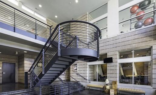 Lobby at Talavera Apartments in Denver, CO