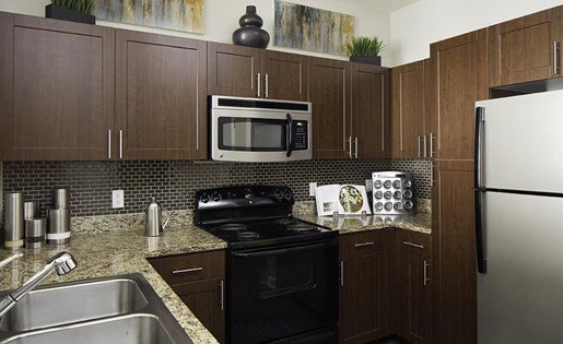 Kitchen at Talavera Apartments in Denver, CO