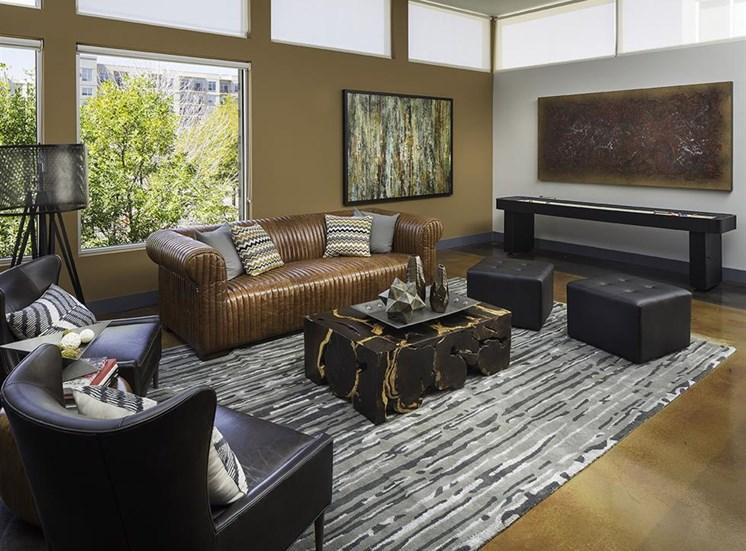 Clubroom at Talavera Apartments in Denver, CO