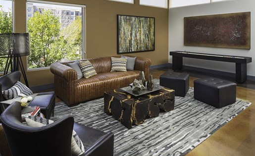 Clubroom at Talavera Apartments in Denver, CO