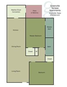 Greenville Terrace Apartments floorplan