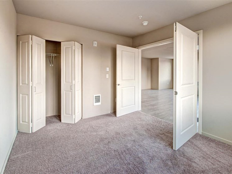 Ample Closets & Storage Space at Second and Main, Renton,Washington