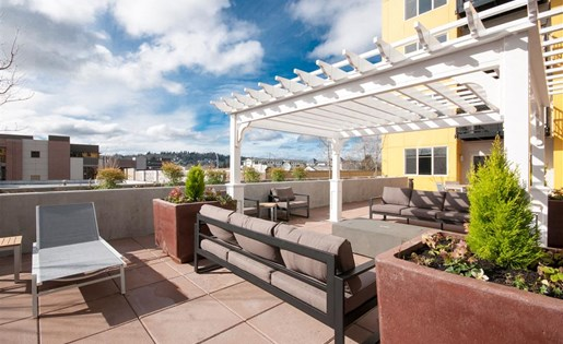 Rooftop Deck at Second and Main, Renton