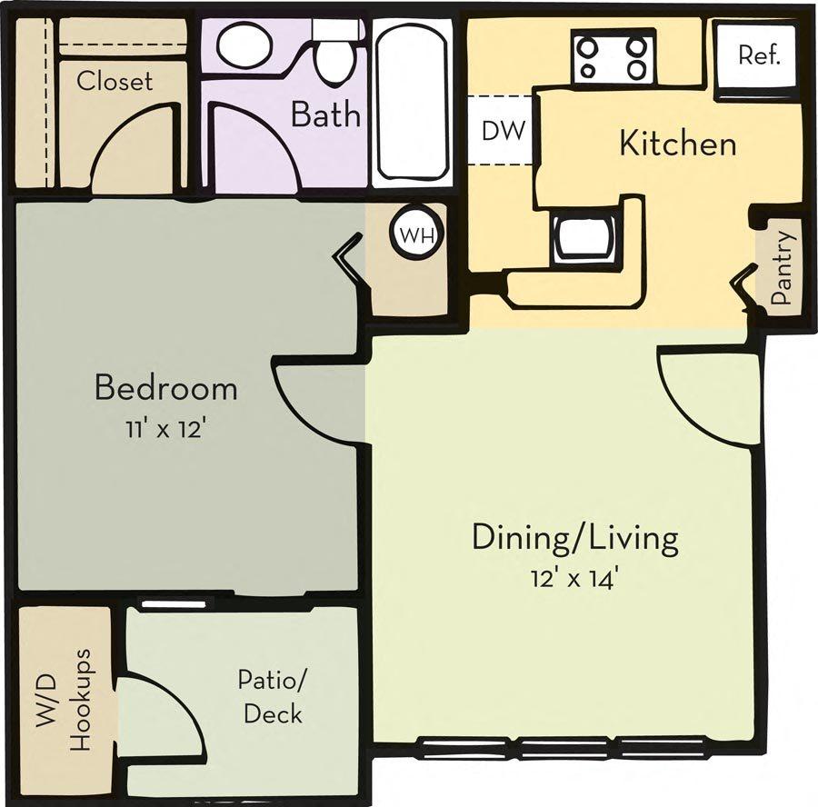 Andover Floor Plan 1