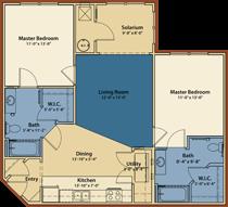 Bluefield Floor Plan 1