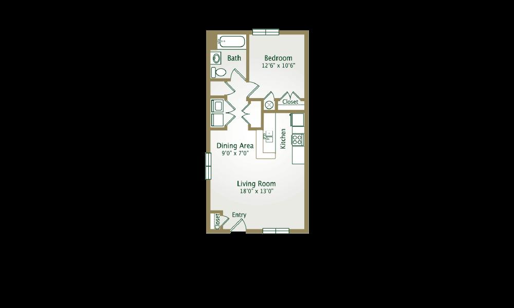 Preston Floor Plan 1