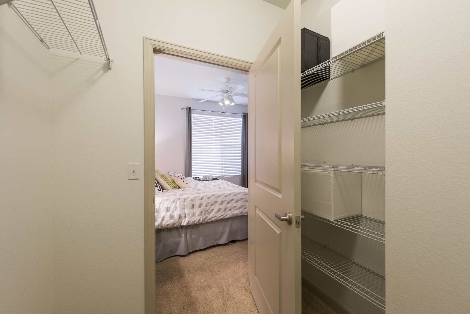 Walk-In Closet at Arterra Place Apartments in Aurora, CO
