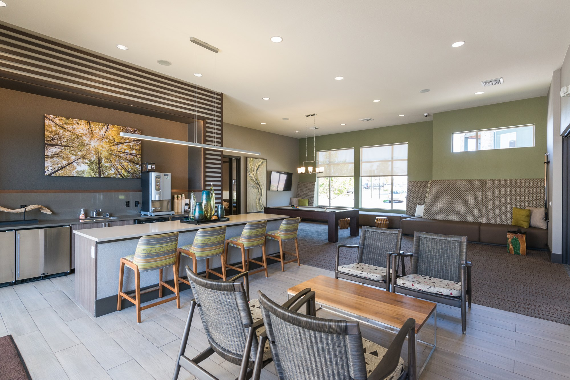 Coffee Bar at Arterra Place Apartments in Aurora, CO