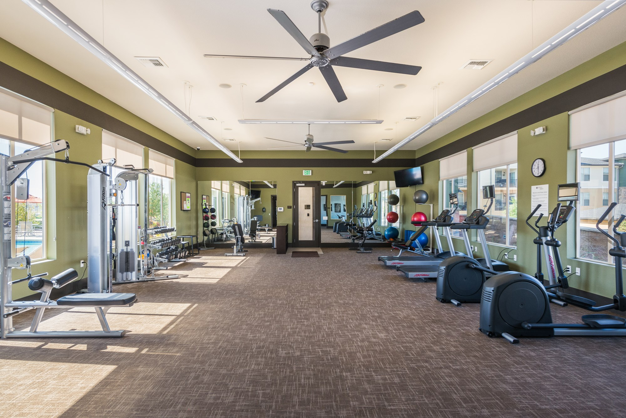 Fitness Center at Arterra Place Apartments in Aurora, CO