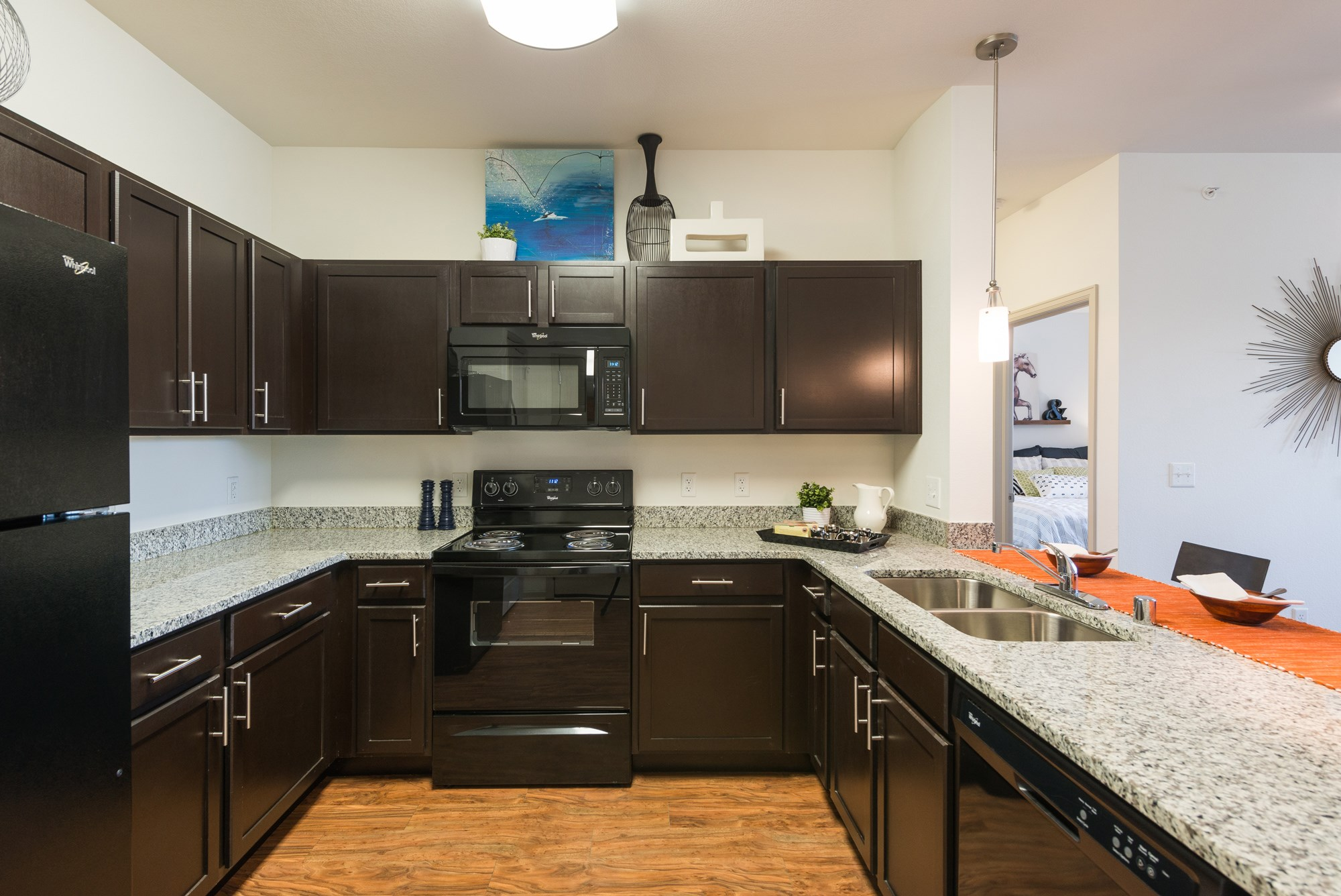 Gourmet Kitchen at Arterra Place Apartments in Aurora, CO