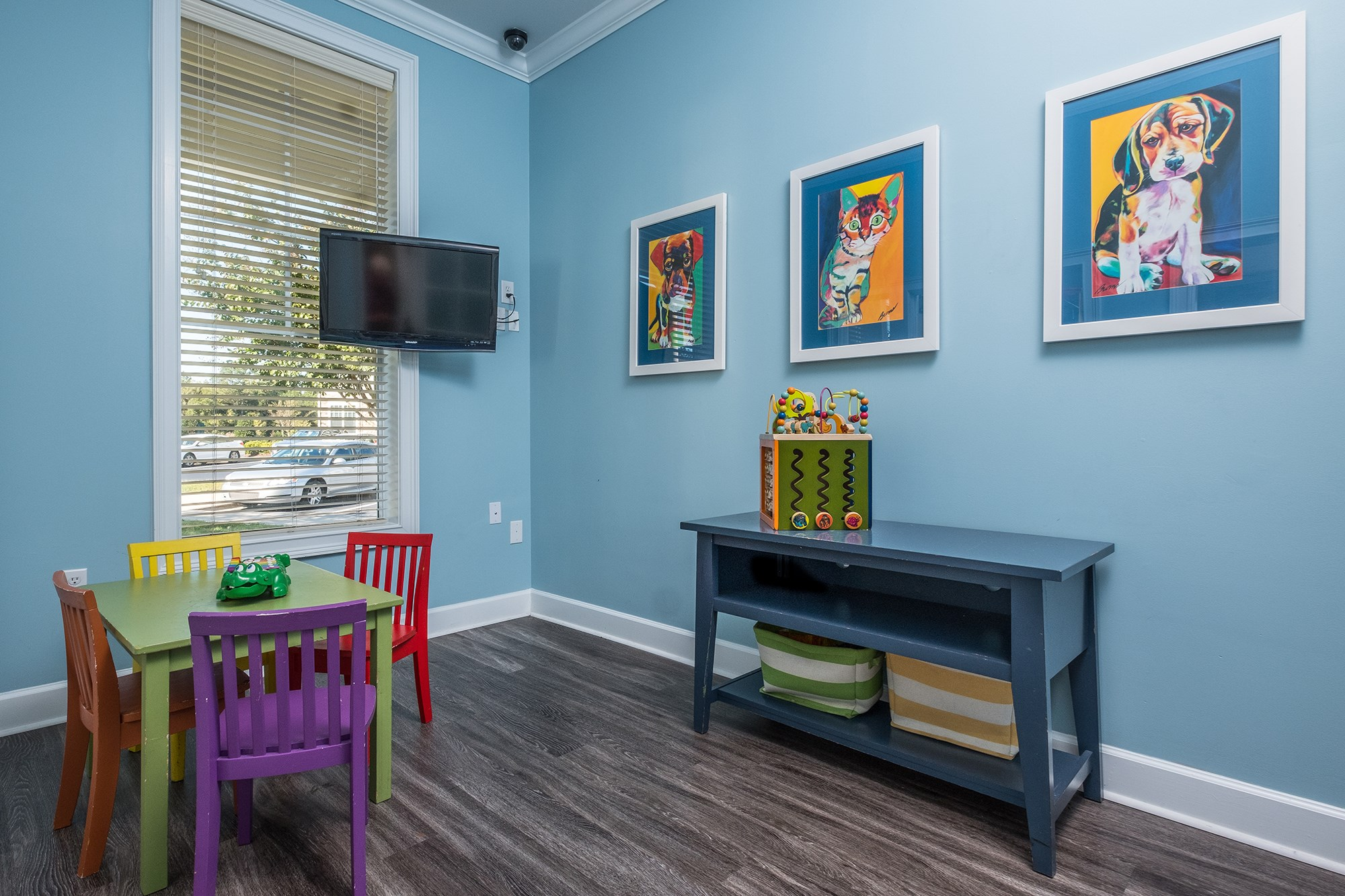 Kids Play Room at View at Legacy Oaks Apartments in Knightdale, NC