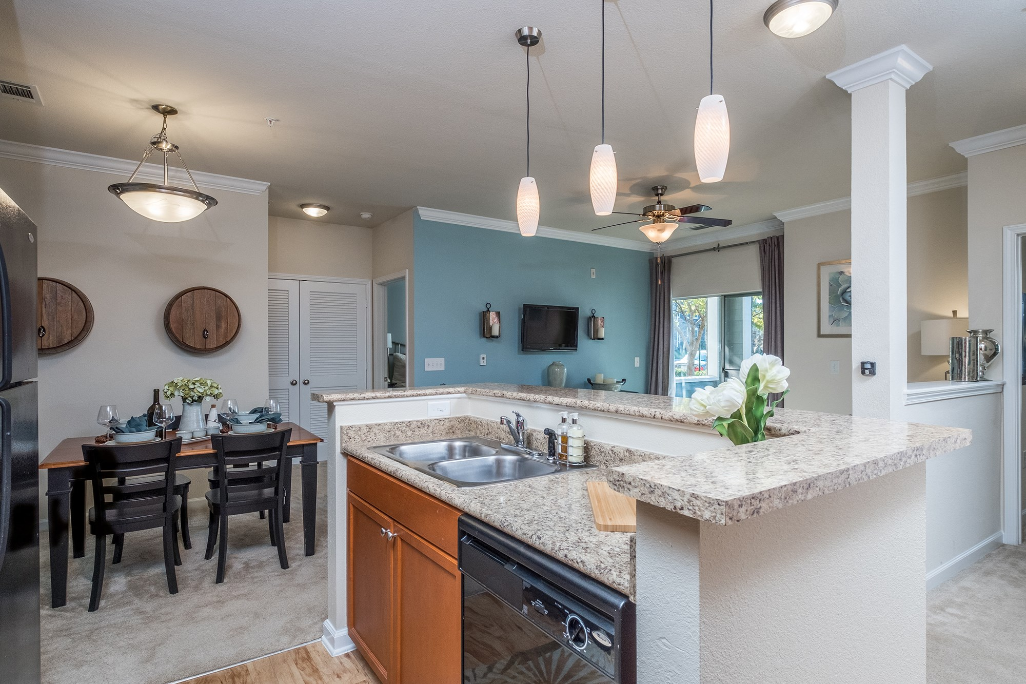 Open Floor Plans at View at Legacy Oaks Apartments in Knightdale, NC