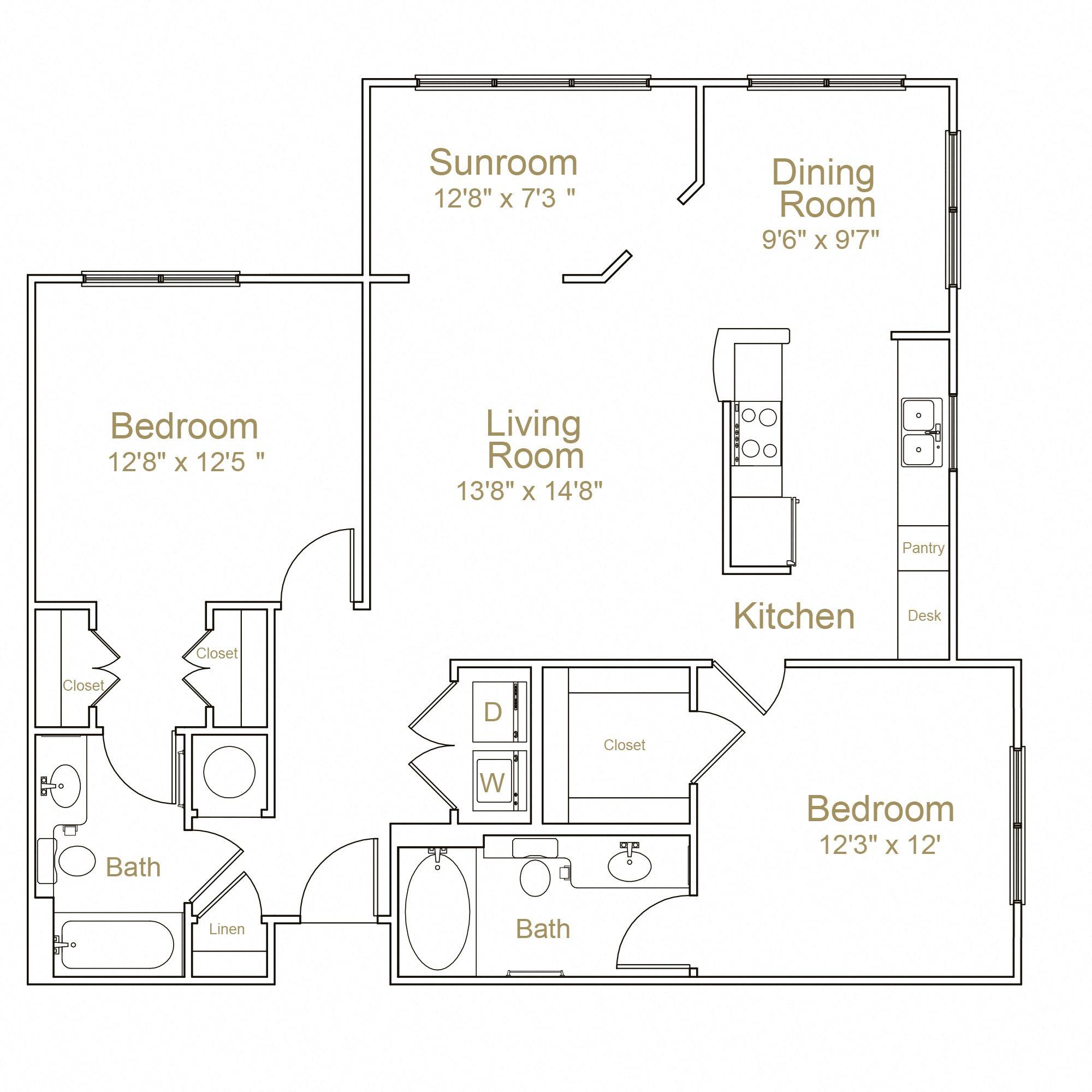2E Floor Plan 8