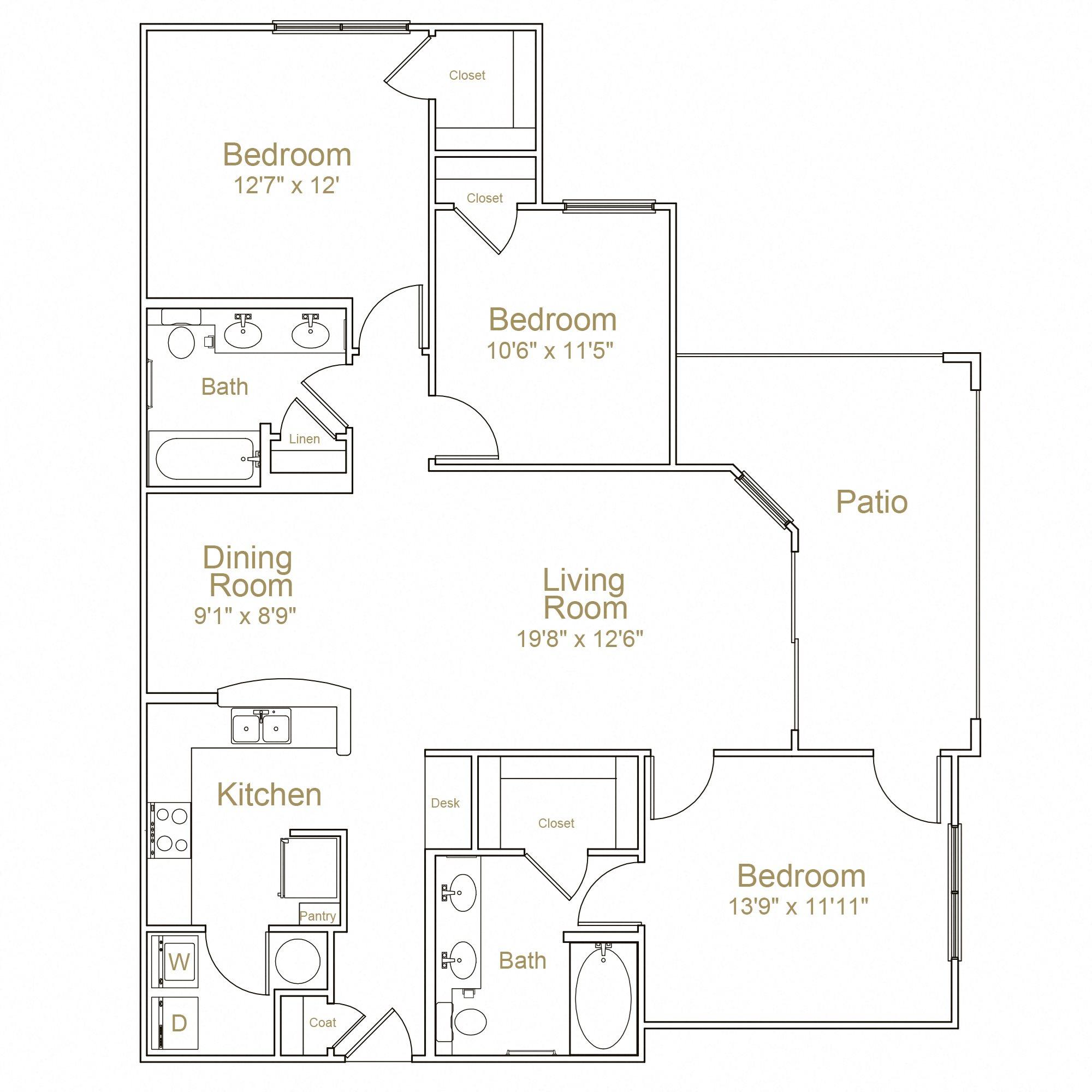 3 Floor Plan 11