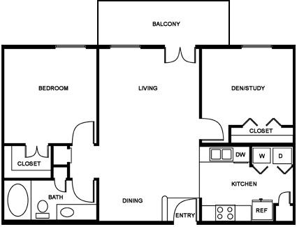 1 2 Amp 3 Bedroom Luxury Apartments In New Orleans La The