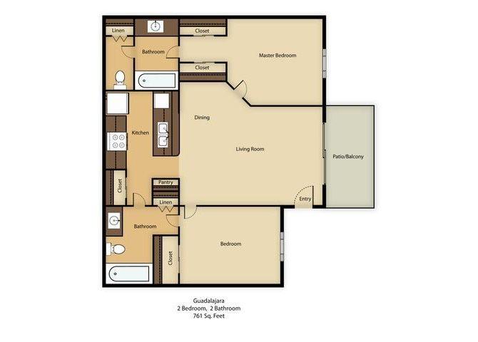 Guadalajara Floor Plan 1