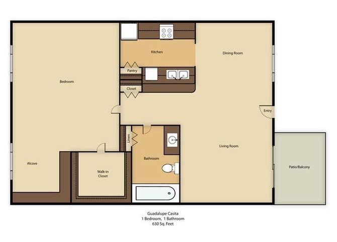 Guadalupe Casita Floor Plan 5