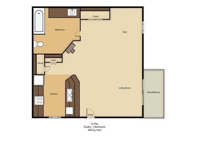 La Paz Floor Plan 2