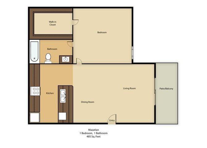 Mazatlan Floor Plan 3