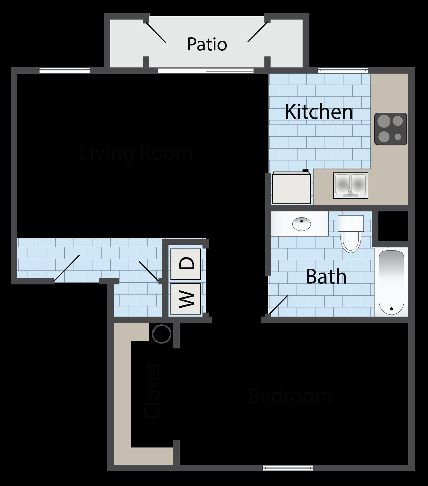 Floor Plans Of Coolidge Apartments In Coolidge Az