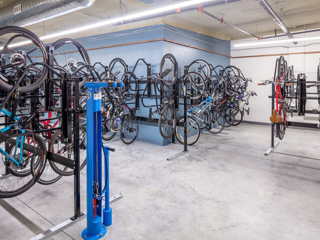 365 Nicollet Bicycle Storage Room