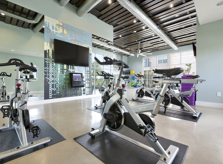 High-Tech Fitness Center at Standard at Leander Station, Texas, 78641
