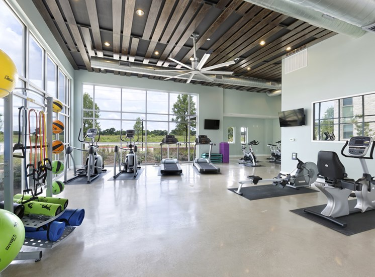 State-of-the-Art Fitness Center at Standard at Leander Station, Leander, 78641