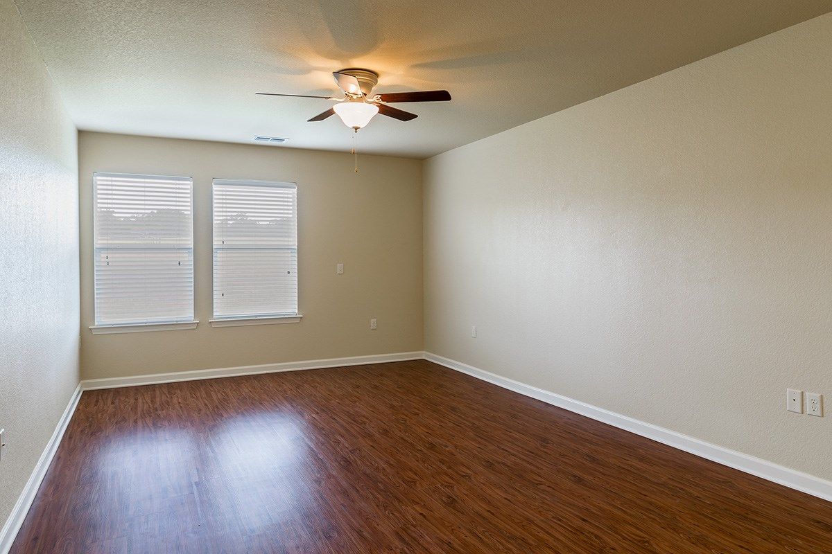 View of the living room in a home at Gardens of Weatherford