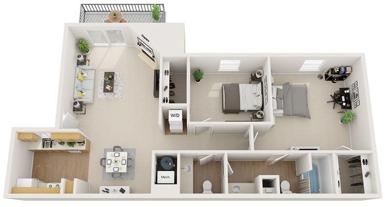 Mountain Run   Apartments   Sandia_2b1.5b