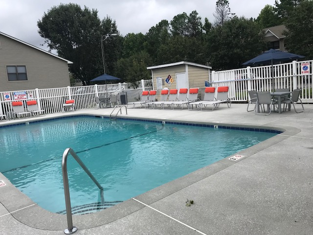Swimming Pool at Lakehurst Apartment Homes in Spring Lake, NC 28390