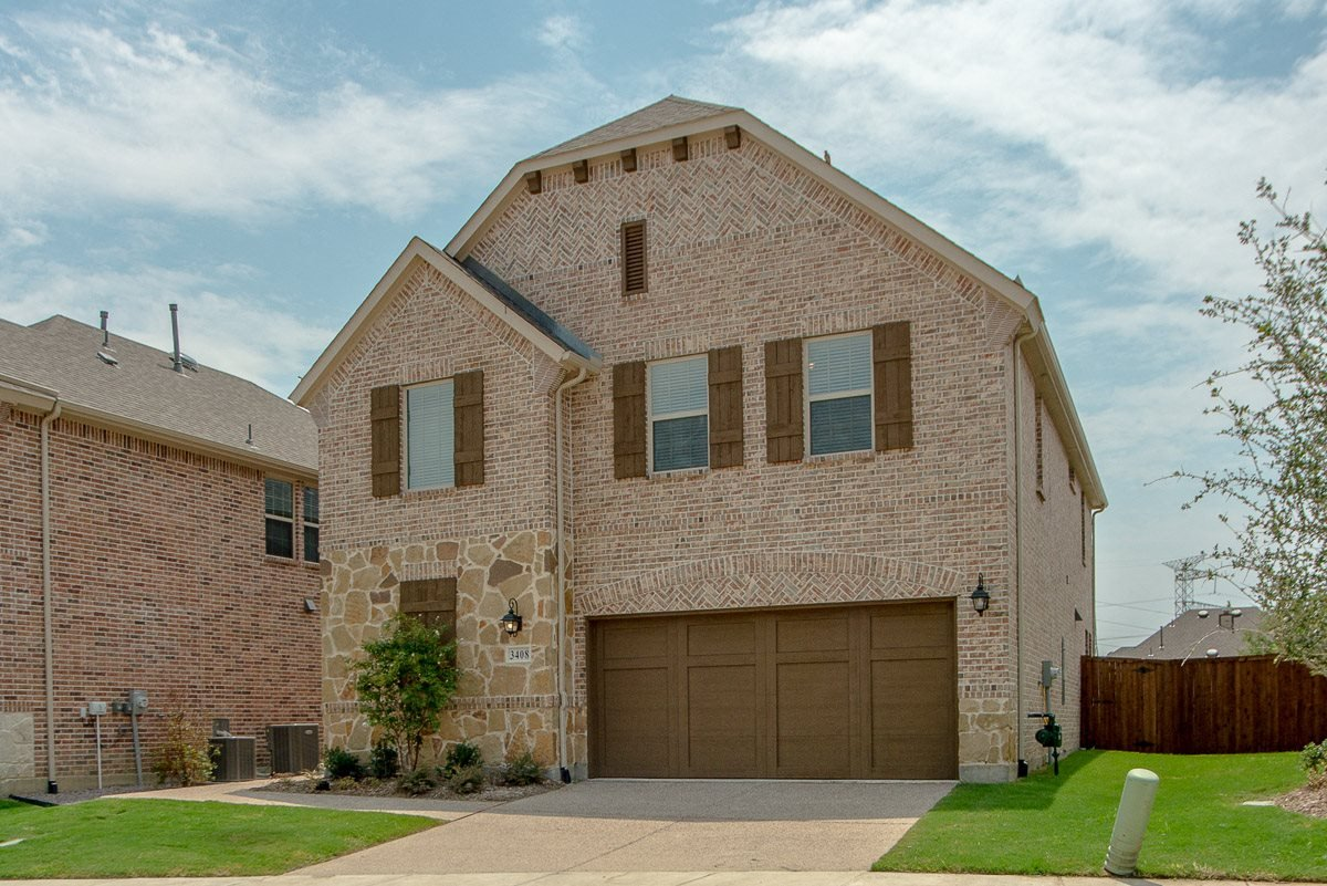 Upscale Luxury Rental Home Exterior at Cottages at the Realm, Homes for rent in Castle Hills, TX