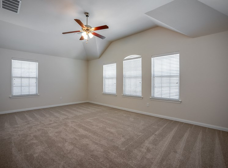 Large Master Bedrooms at Cottages at the Realm, Homes for rent in Lewisville, Texas 75056