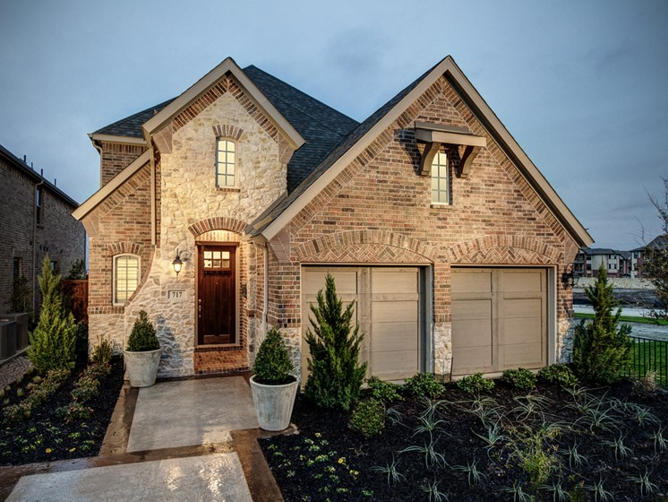 Upscale Luxury Rental Home Exterior at Cottages at the Realm, Homes for rent in 3600 Windhaven Parkway, Suite 200 Lewisville, TX 75056