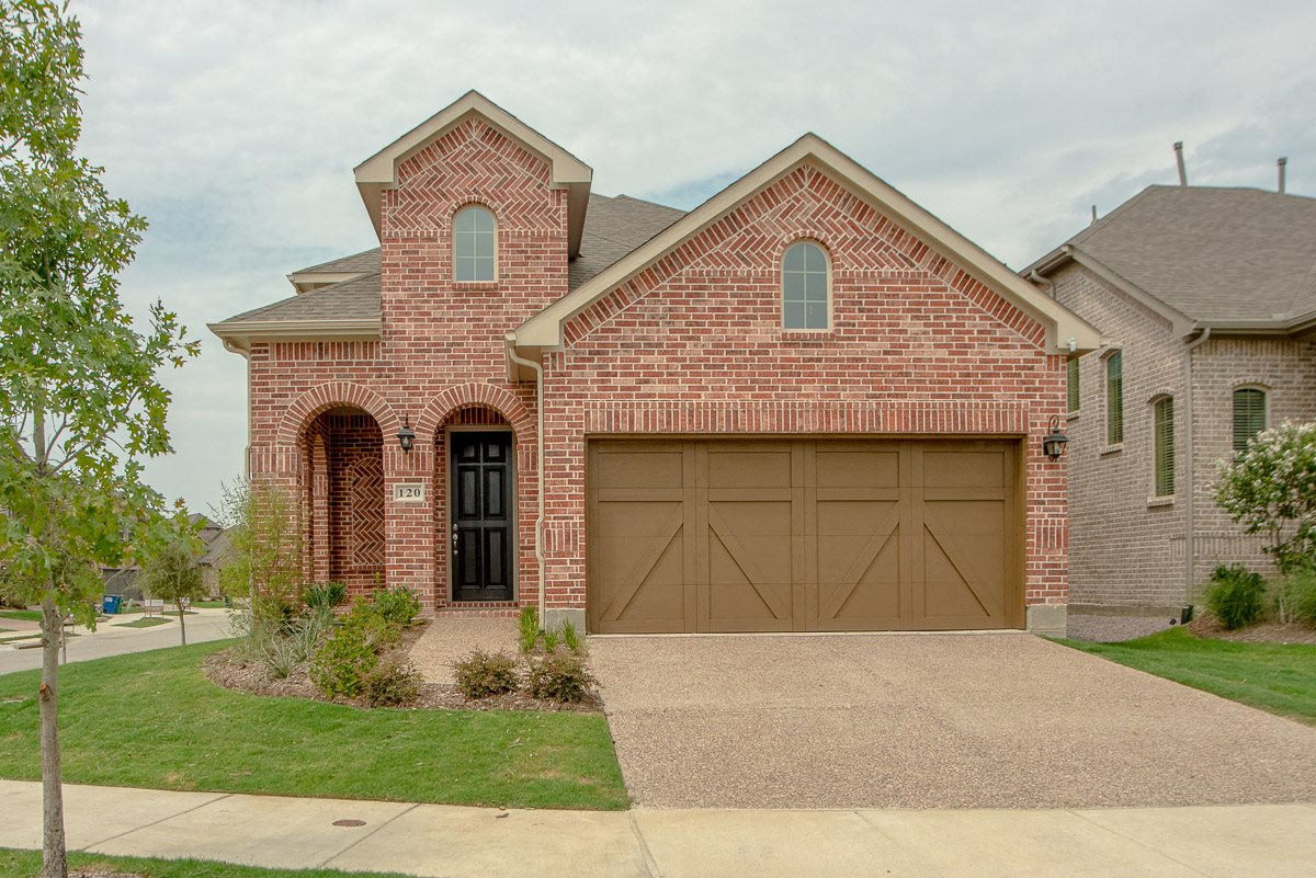 Upscale Luxury Rental Home Exterior at Cottages at the Realm, Homes for rent in Lewisville, TX