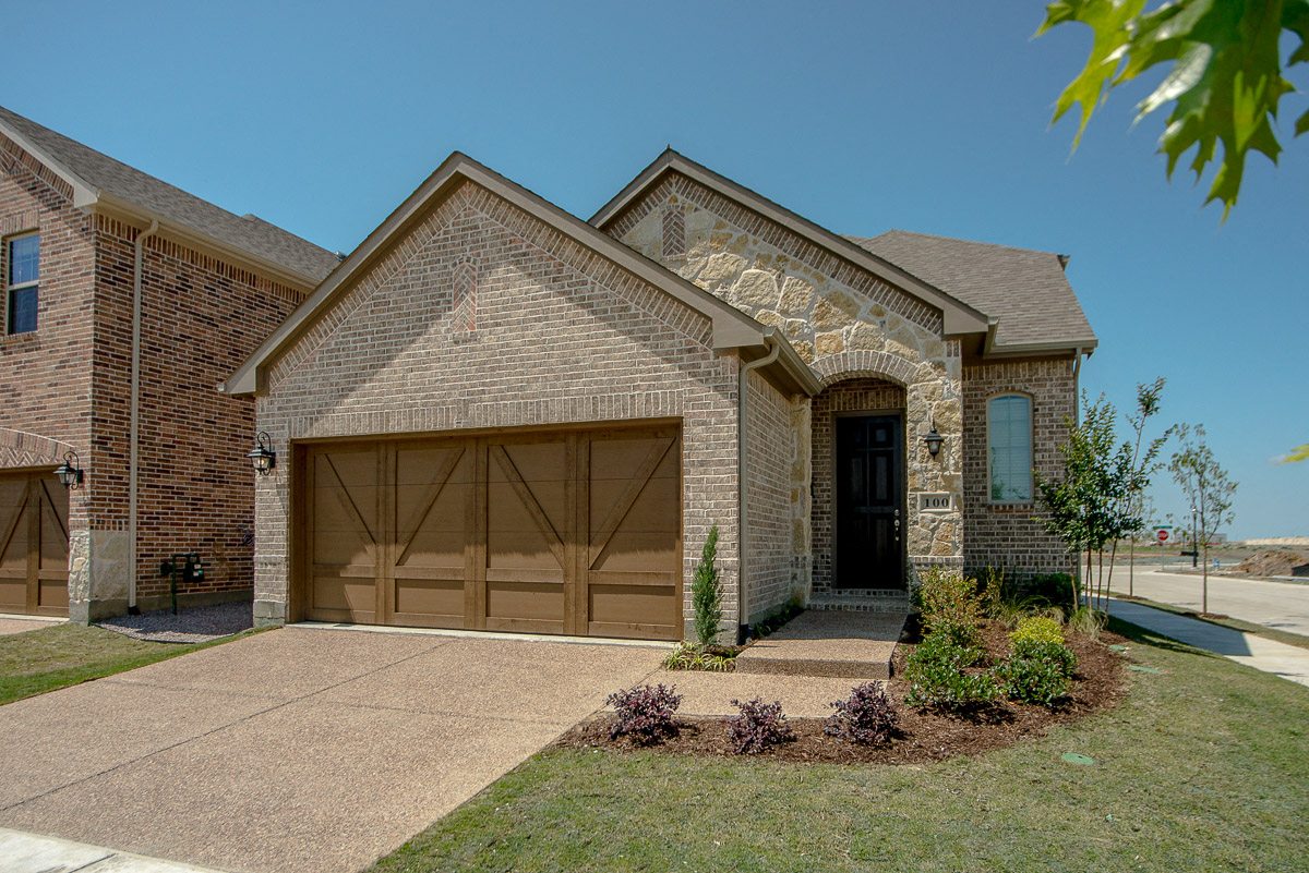 Upscale Luxury Rental Home Exterior, Cottages at the Realm, Homes for rent in Lewisville, TX 75056