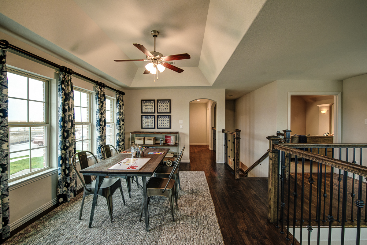 Vaulted Ceilings with Lots of Light, Cottages at the Realm, Homes for rent in Castle Hills, Lewisville, TX