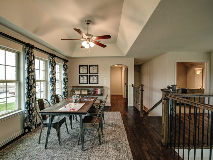 High Ceilings with Lots of Light at Cottages at the Realm, Homes for rent in Castle Hills, Lewisville, TX