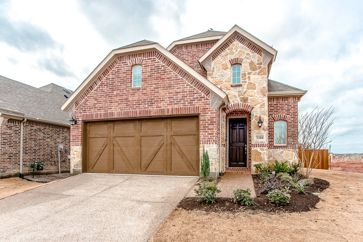 Upscale Luxury Rental Home Exterior at Cottages at the Realm, Homes for rent in Castle Hills, TX 75056