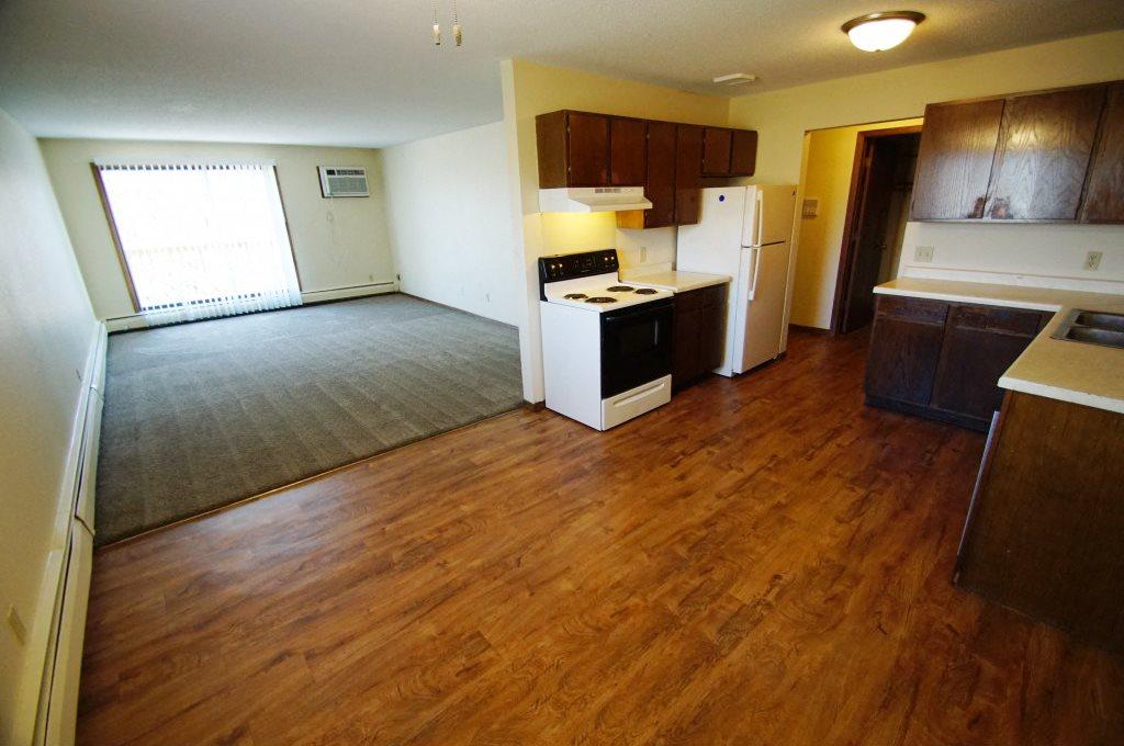 gentry apartments hardwood floor kitchen dining room