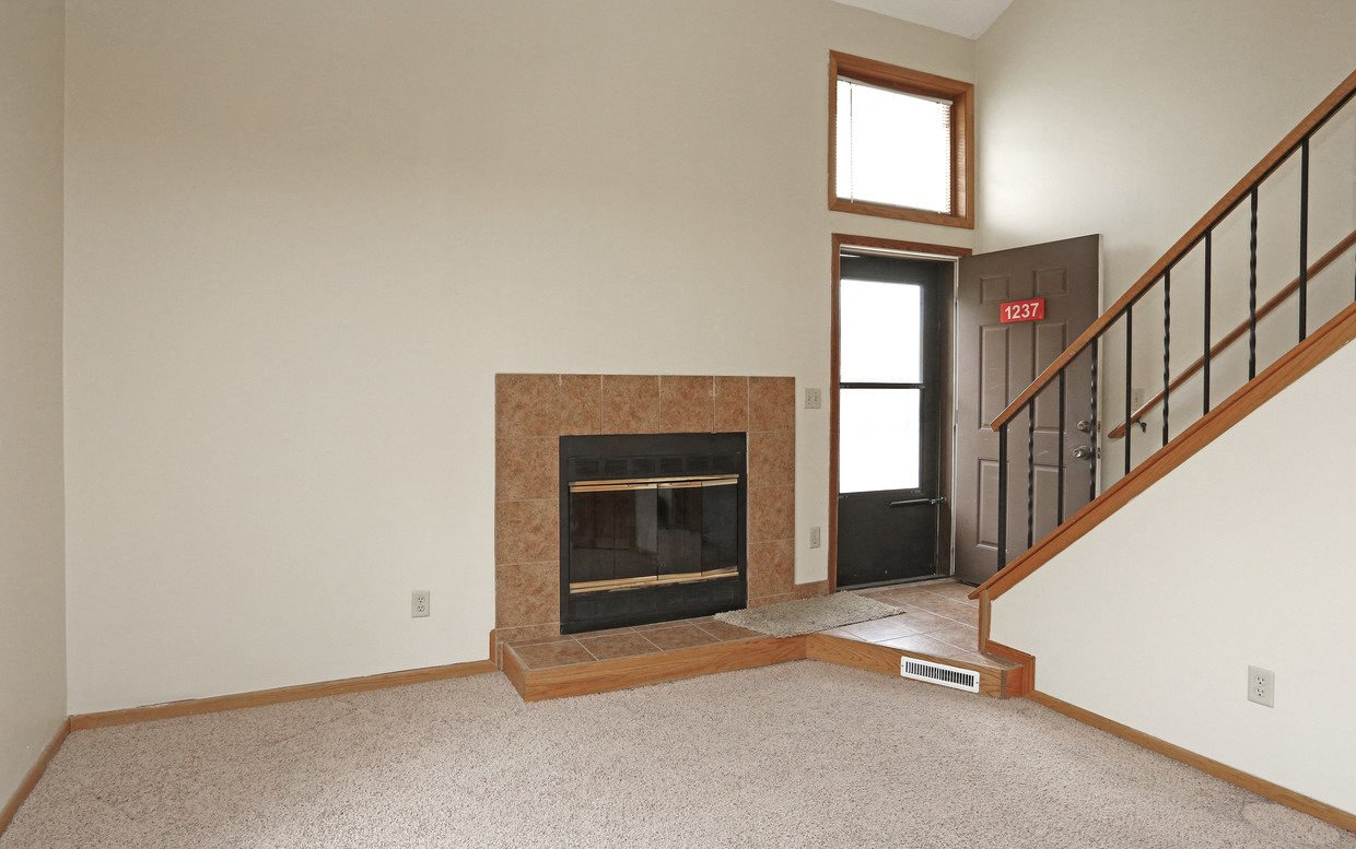 The Lofts of Sandcreek Fireplace
