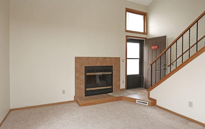 The Lofts of Sandcreek Fireplace