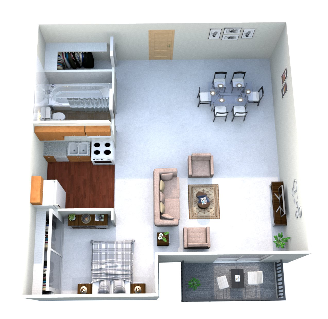 Floor Plans Of Oakmont Apartments In Coon Rapids, MN