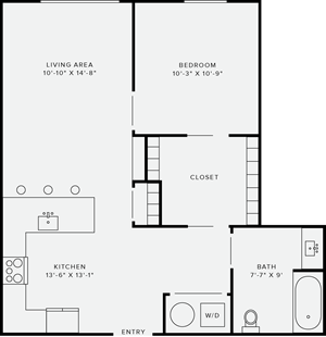 1 Bedroom Style I
