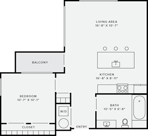 1 Bedroom Style M