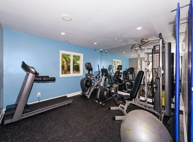 Fitness Center at Osprey Landing Apartments