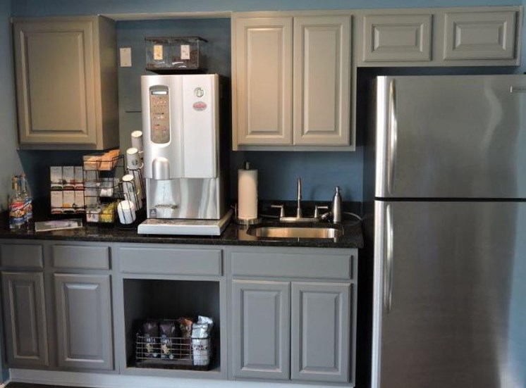 Kitchen at Clubhouse
