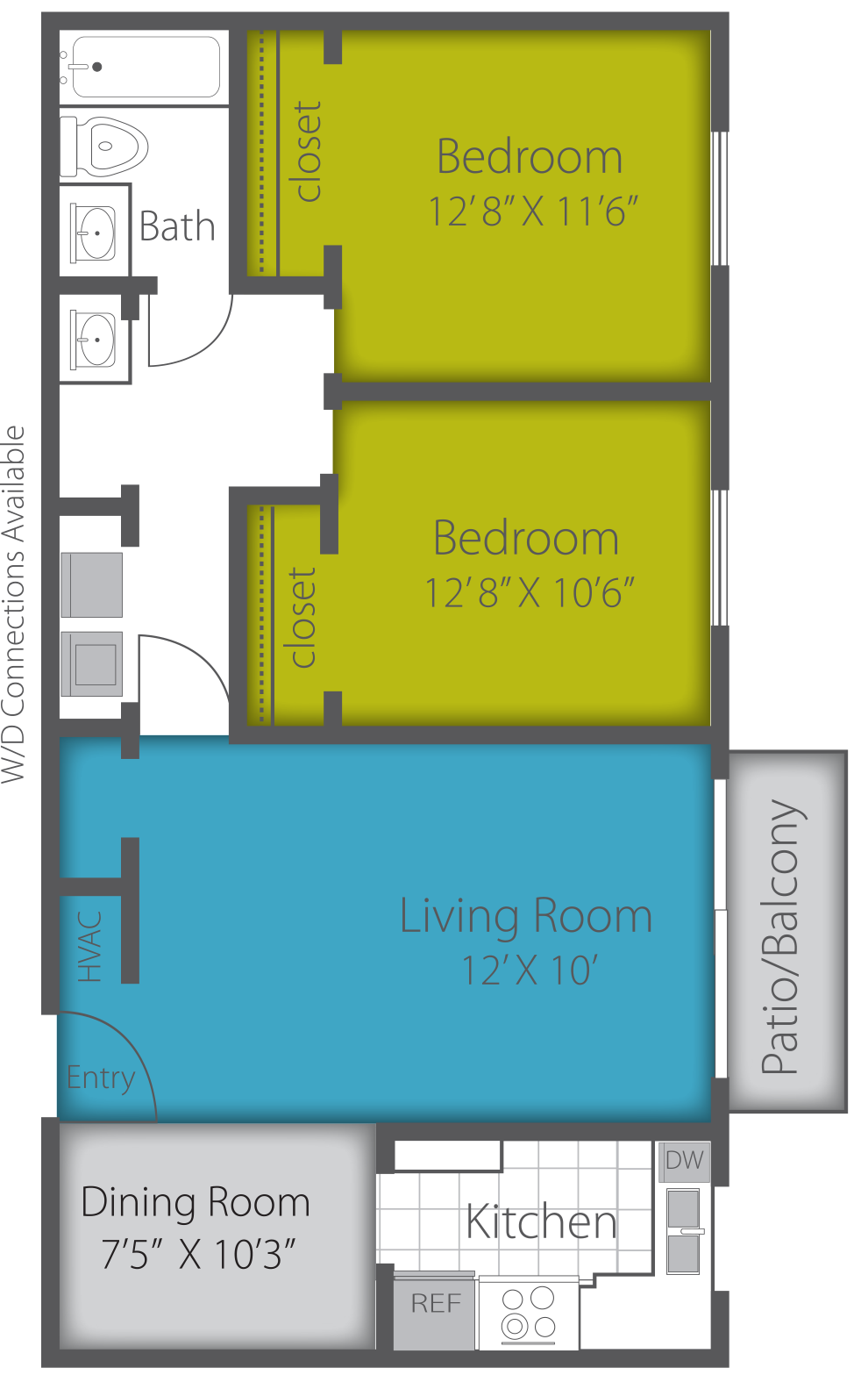 2X1 RENOVATED Floor Plan 6
