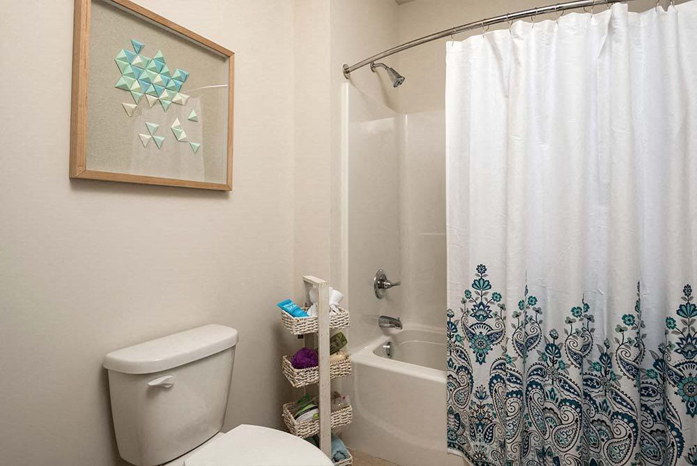 Shower Enclosures at College Suites at Hudson Valley, New York, 12180