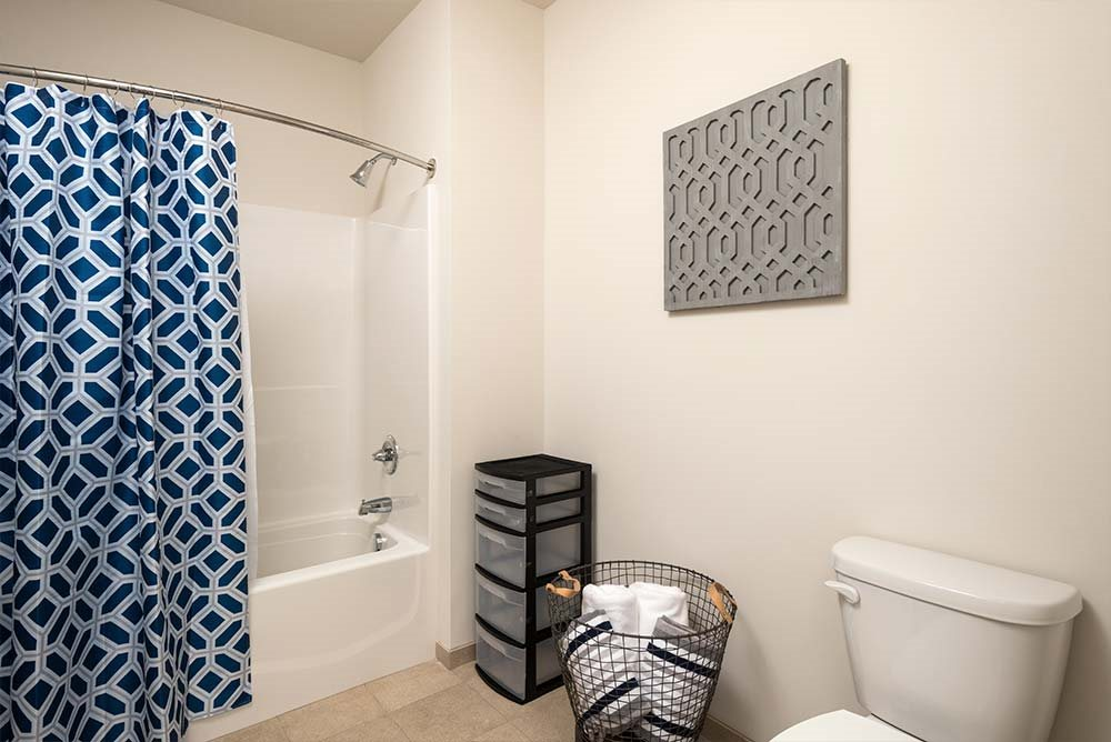 Bathroom Accessories at College Suites at Hudson Valley, Troy, NY