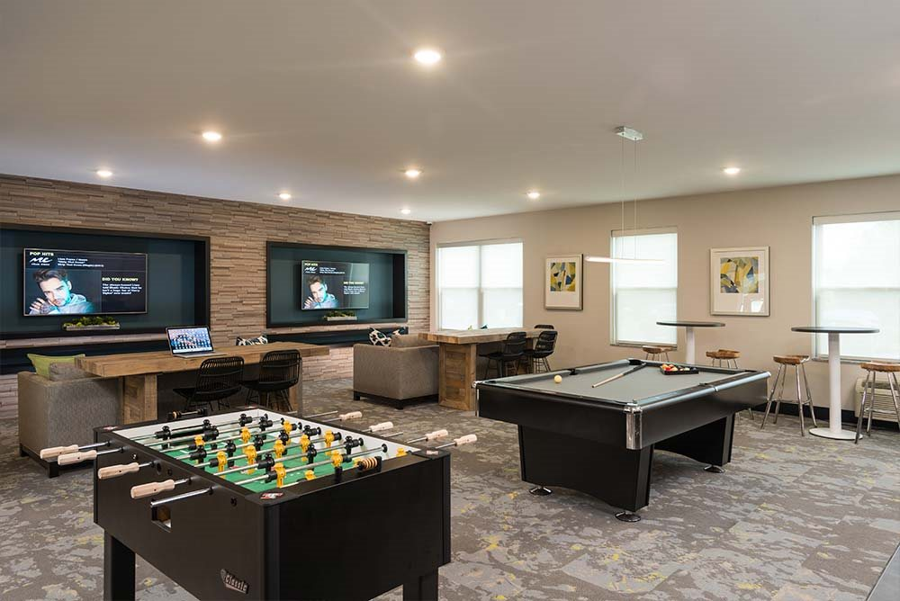 Fuss Ball Tables at College Suites at Hudson Valley, Troy